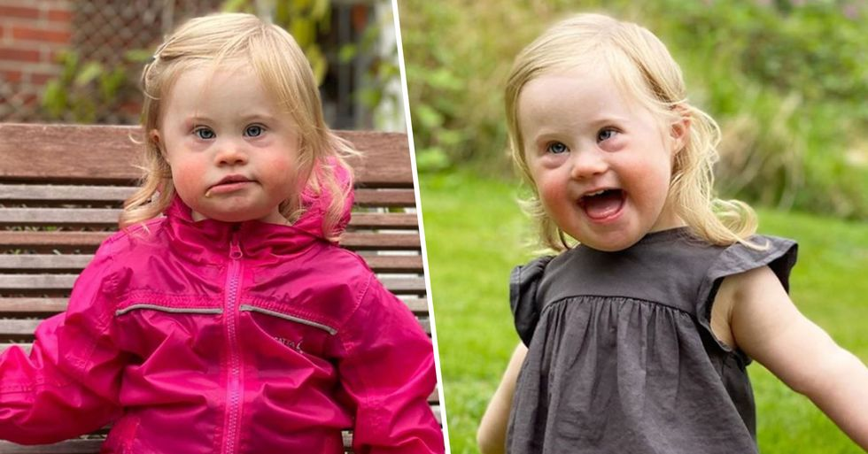 Adorable 2-Year-Old Girl With Down Syndrome Becomes Face of Kid's Fashion Campaign