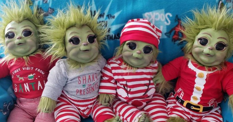 You Can Get a Baby Grinch Doll That Looks Incredibly Realistic