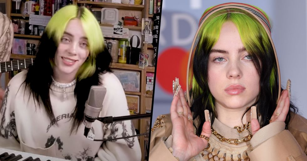 Billie Eilish Fans Are Really Freaked Out After Seeing Her Real Nails for the First Time