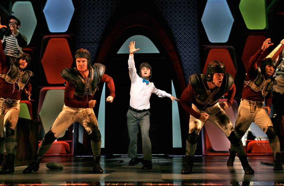 Daniel Radcliffe Wins Us Over in How to Succeed in Business Withouth Really Trying