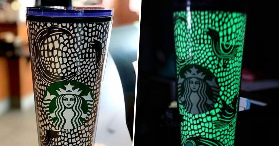 Starbucks Has a New Glow-In-The-Dark Tumbler Just in Time for Spooky Season