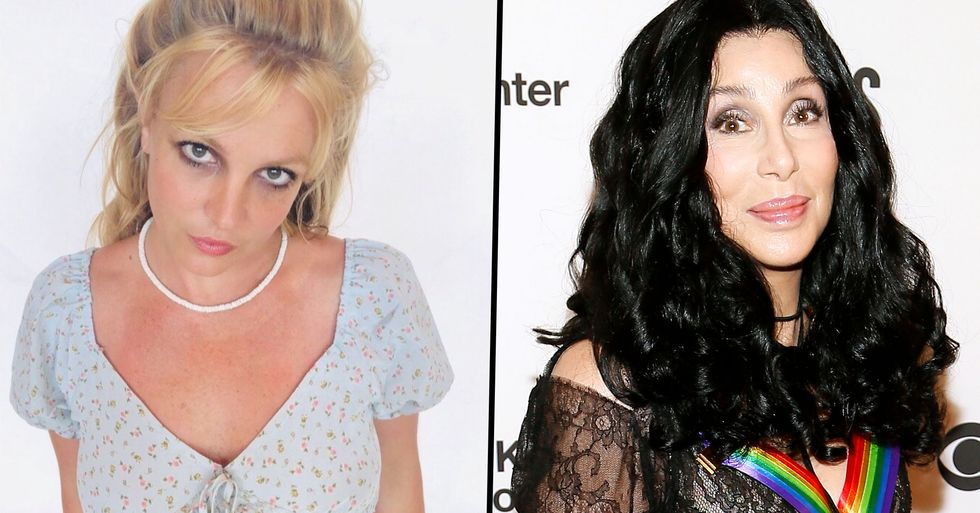 People Are Seriously Divided Over Cher's Comments About Britney Spears