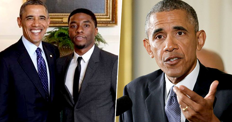 Barack Obama Pays Heartbreaking Tribute to Chadwick Boseman