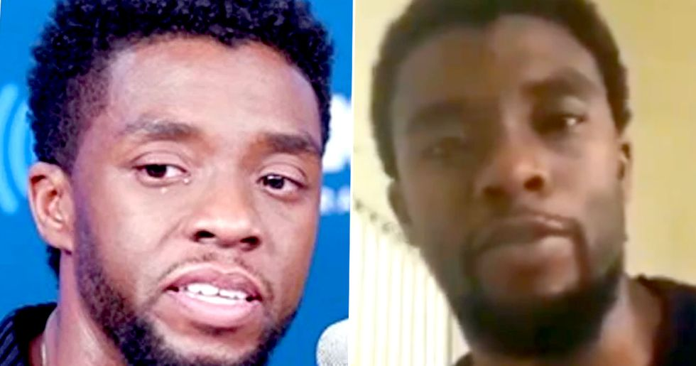Dad of Child Chadwick Boseman Spoke About in Interview Shares Message He Sent to Son