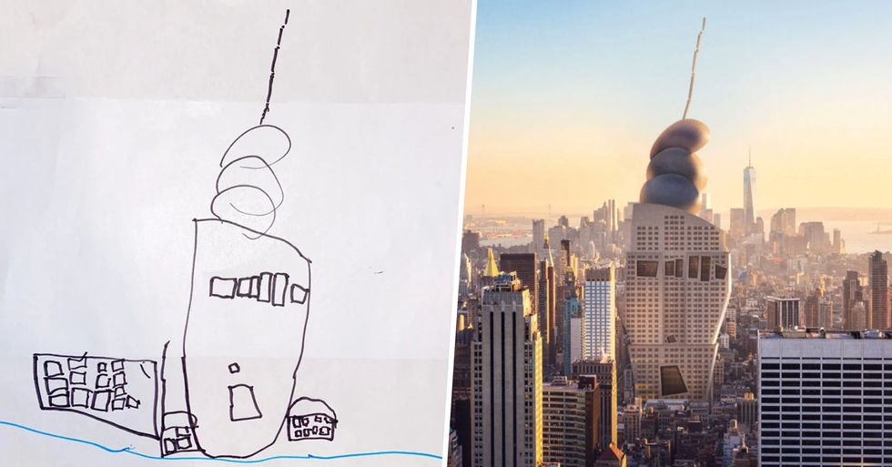 Company Imagines What Children's Versions of Famous Landmarks Would Look Like If They Were Real