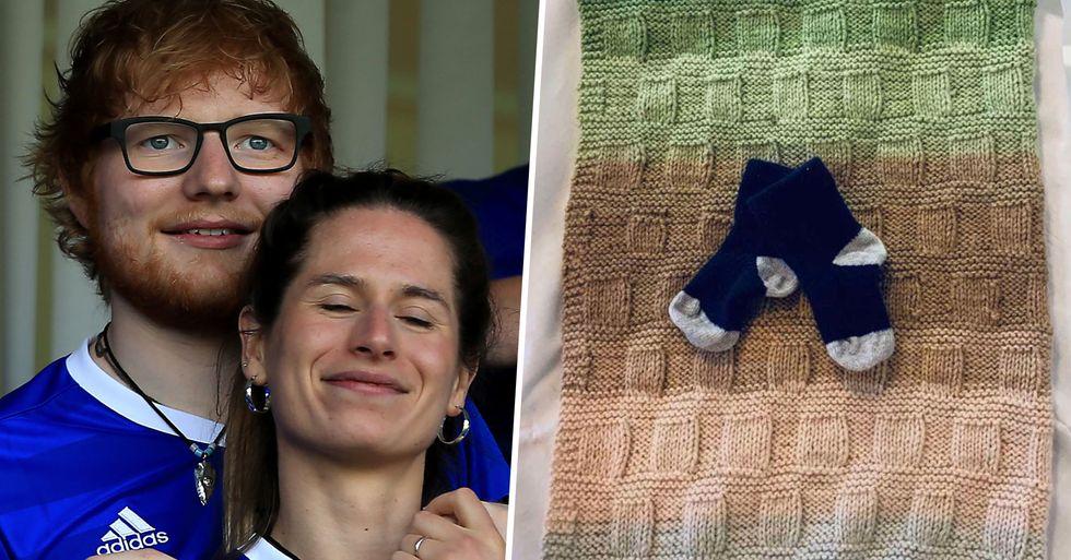 Social Media Mocks Ed Sheeran's Baby Name Calling It 'Horrific'