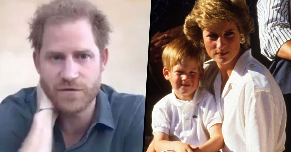Prince Harry Shares His Regret Over Final Phone Call With Mom Princess Diana