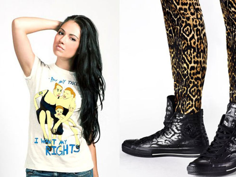 Marc Jacobs X the Human Rights Campaign + Givenchy X Converse in Today's Style Scraps