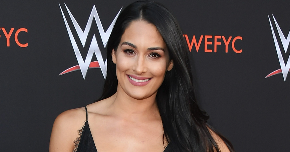 Nikki Bella Shows First Full Face Photo of Adorable Baby Son Matteo as he Turns One-Month-Old