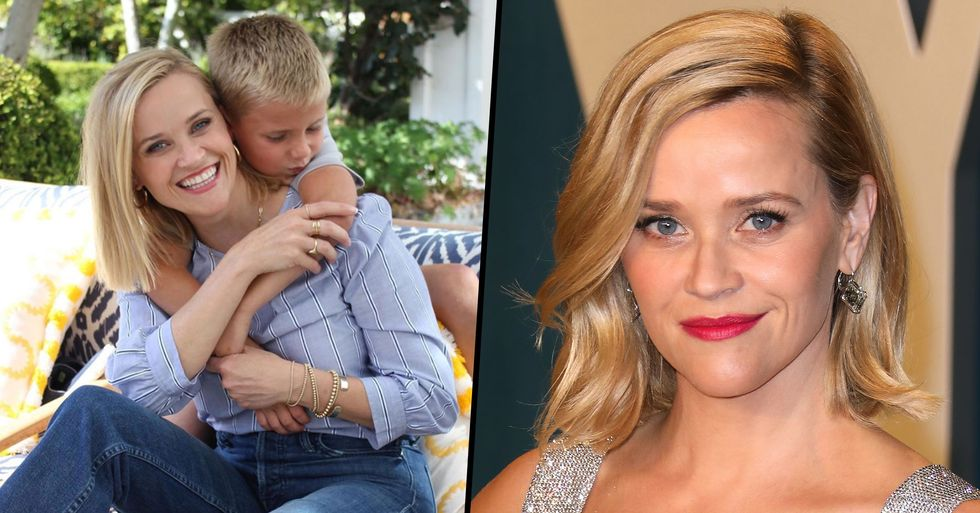 Fans Mom-Shame Reese Witherspoon For Posting 'Dangerous' Photos of Son
