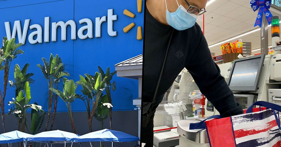 Walmart Are Testing Having Self-Checkout Lanes Only and No Cashiers