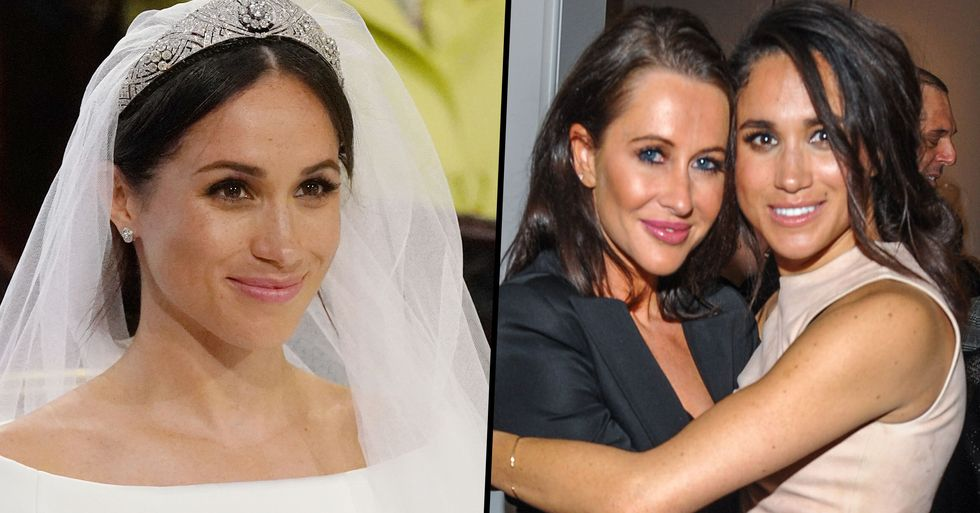 Meghan Markle's Ex-Best Friend Just Posted and Then Quickly Deleted a Throwback Pic From the Royal Wedding