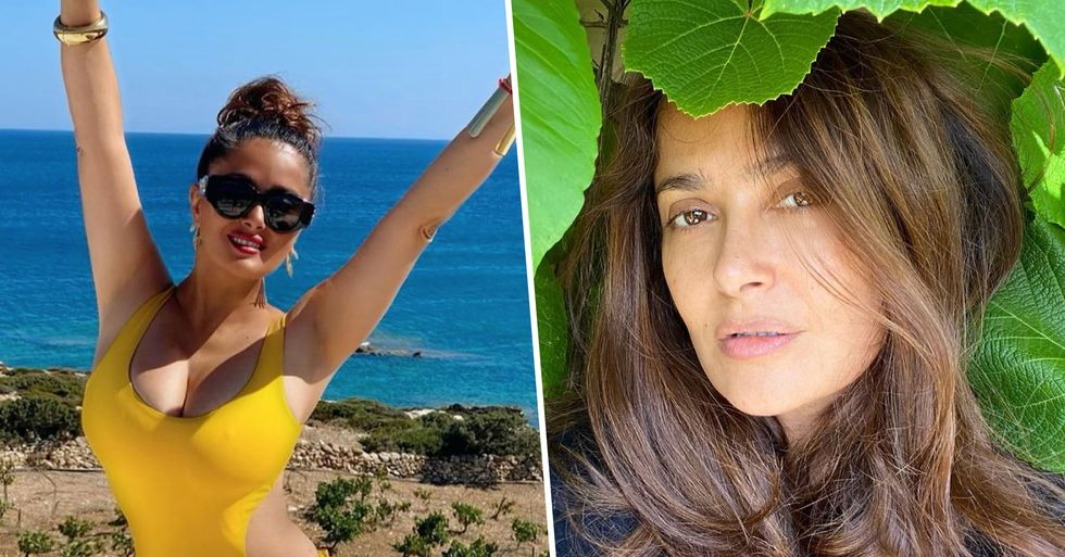 Salma Hayek Fans Shocked To Discover Her Age as She Posts Stunning Birthday Pics