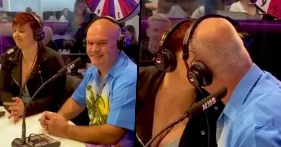 Woman Makes Out With Her Own Dad on Live Radio To Win $1,000
