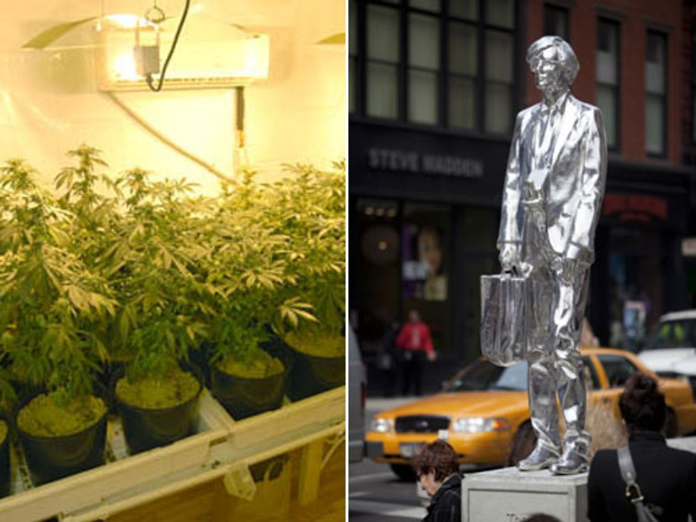 """Eight Items or Less: Stoners Are Driving Up the Electric Bill + """"Andy Touched Me"""""""