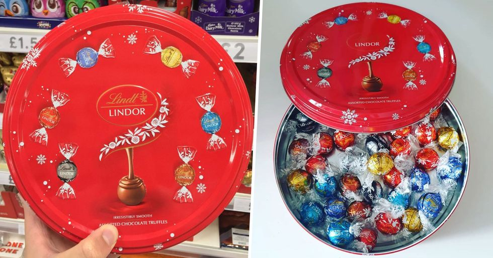 Lindt Launches First Ever Sharing Tin For Christmas Time