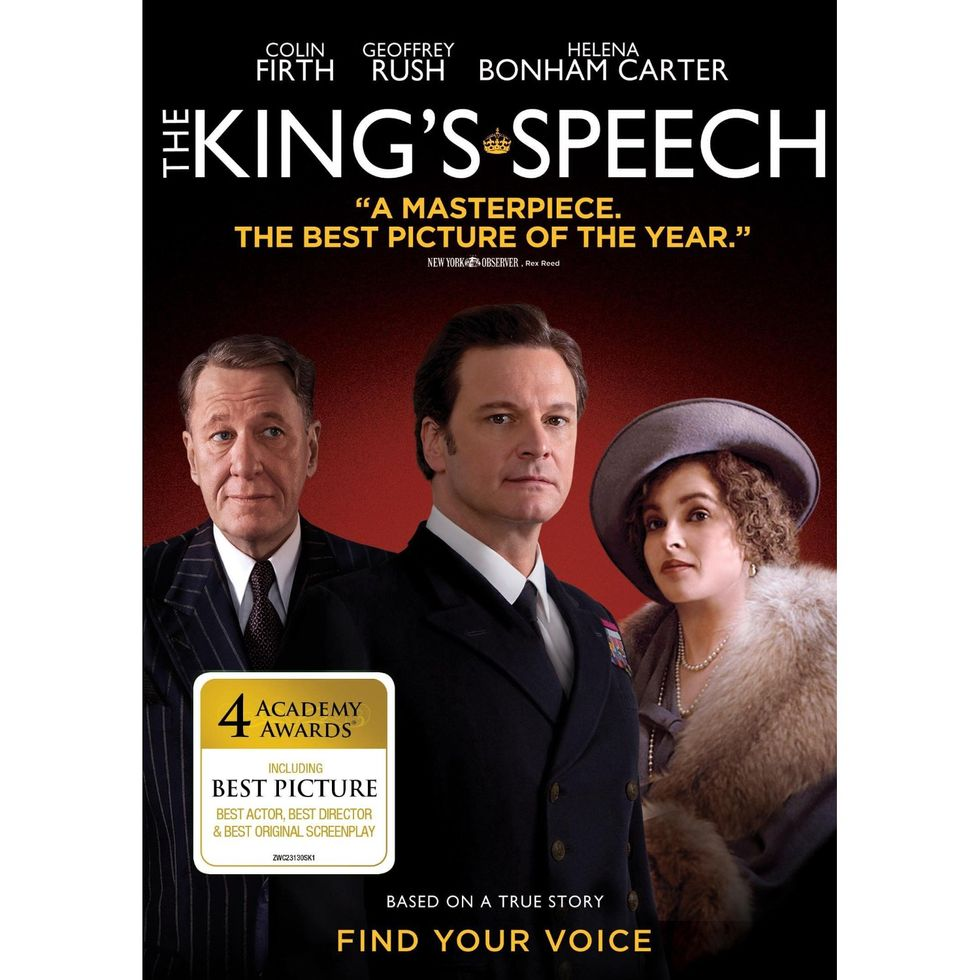 """Thoroughly Enjoyable"" The King's Speech On Blu-ray & DVD"