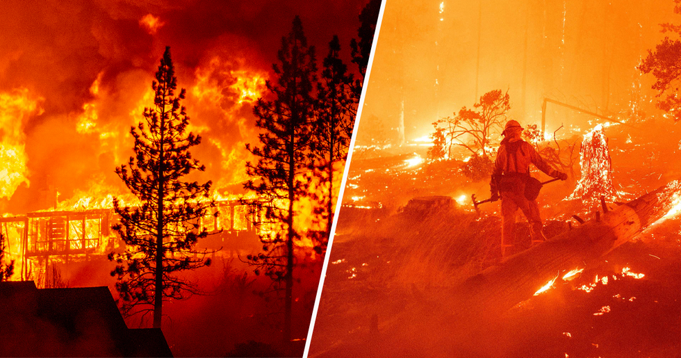 At Least One Dead and an Entire Town 'Decimated' as Wildfires Continue To Cause Havoc in US