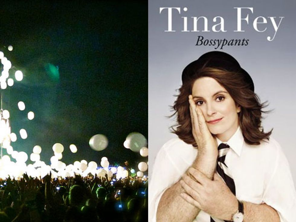 Eight Items Or Less: Get Your $1,000 Arcade Fire Beach Balls + Tina Fey's Prayer For Her Daughter