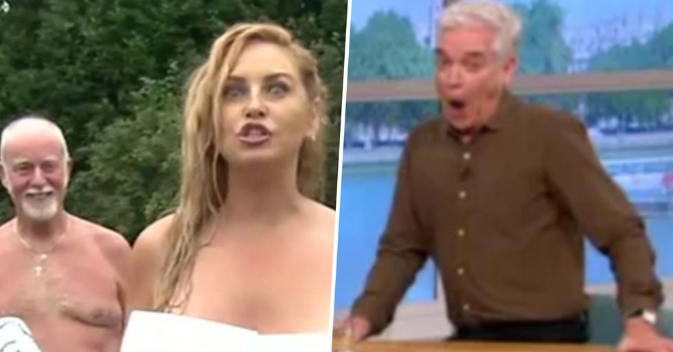 Viewers Left Shocked After Nudist Accidentally Flashes During Live Broadcast