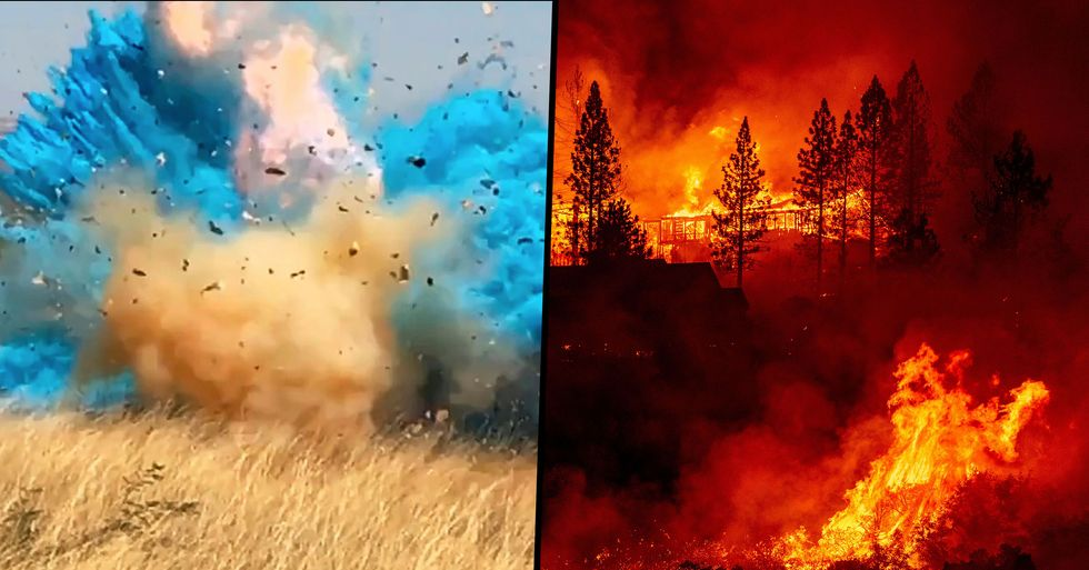 California Fire Isn't the First To Be Caused by a Gender-Reveal Party