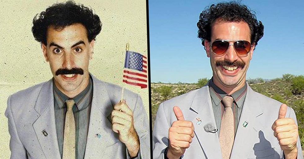 'Borat 2' Has Been Completed By Sacha Baron Cohen