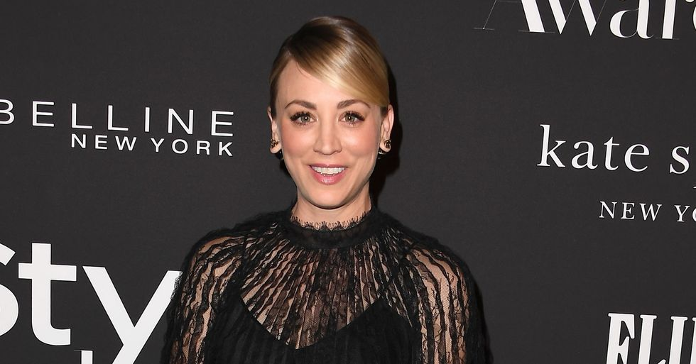 Fans Disgusted At Kaley Cuoco's 'Dangerous' Instagram Mask Post