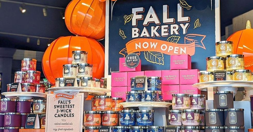 Bath & Body Works Has Released 60 New Fall Products Including 15 3-Wick Candles