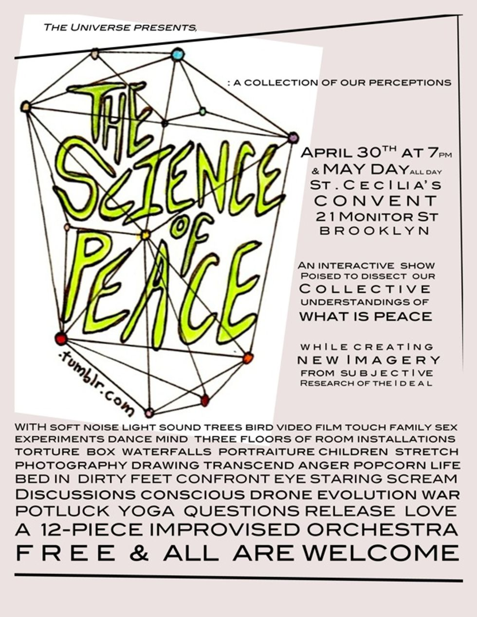 Hipsters for Peace -- Next Weekend!