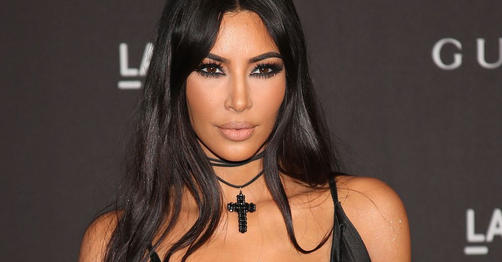 Kim Kardashian Proves Once and for All That She Only Has Five Toes