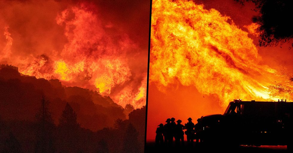 Wildfire Currently Burning Is Now Largest in California History