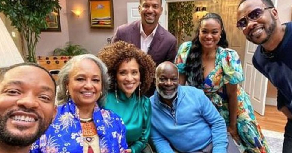 Will Smith Reunites With the Cast of 'Fresh Prince of Bel-Air' on Show's 30th Anniversary
