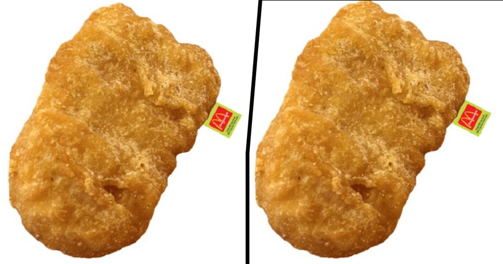 You Can Get a 3ft Chicken Nugget Body Pillow For The Person Who Loves McDonald's The Most