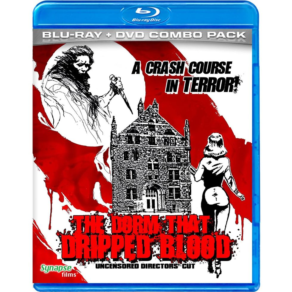 Oddball Slasher Film The Dorm That Dripped Blood On Blu-ray + DVD Combo