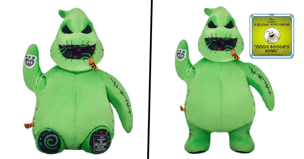Build-a-Bear Just Released an 'Oogie Boogie' Bear and We're Obsessed