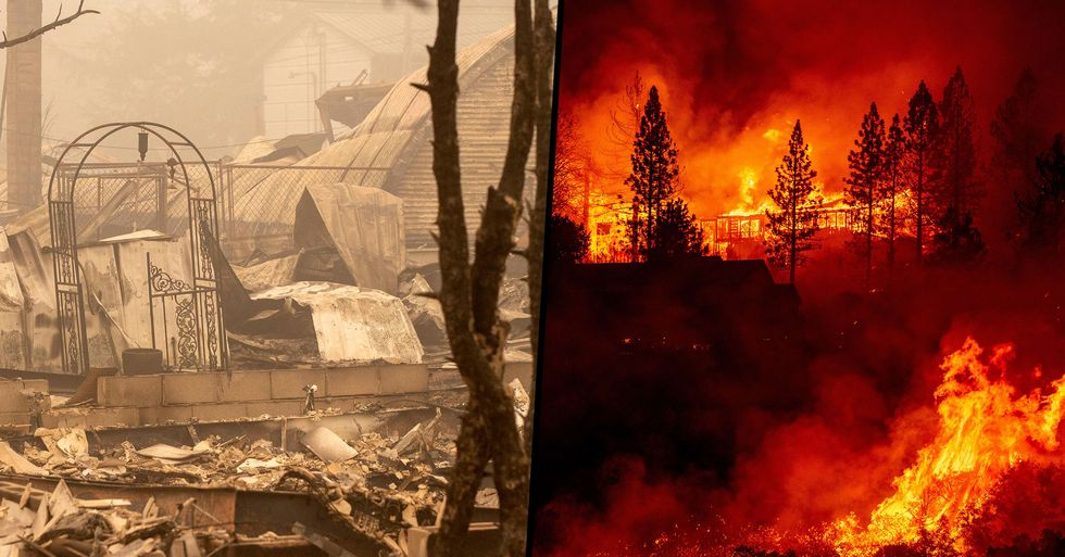 Man Searching for Wife in Wildfire Asked Burned Woman for Help Not Realizing It Was Her