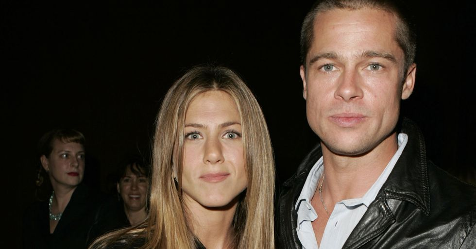 Jennifer Aniston and Brad Pitt Just Reunited and People Are Losing It