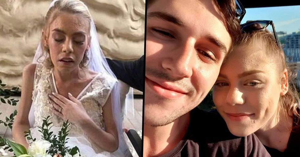 Terminally-Ill Bride Loses Cancer Battle Just Days After Marrying the Love of Her Life