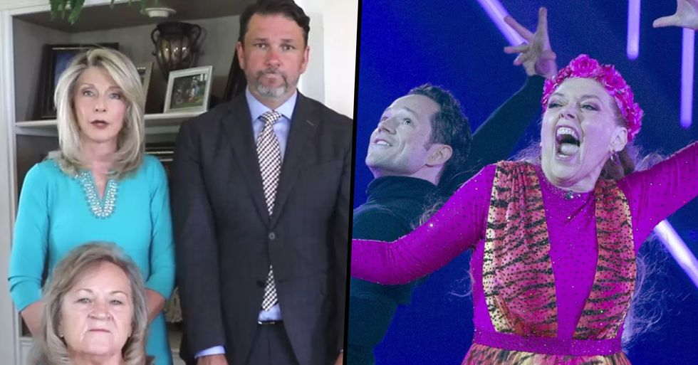 Family of Carole Baskin's Ex-Husband Buy Ad Slot During Her 'Dancing With the Stars' Debut