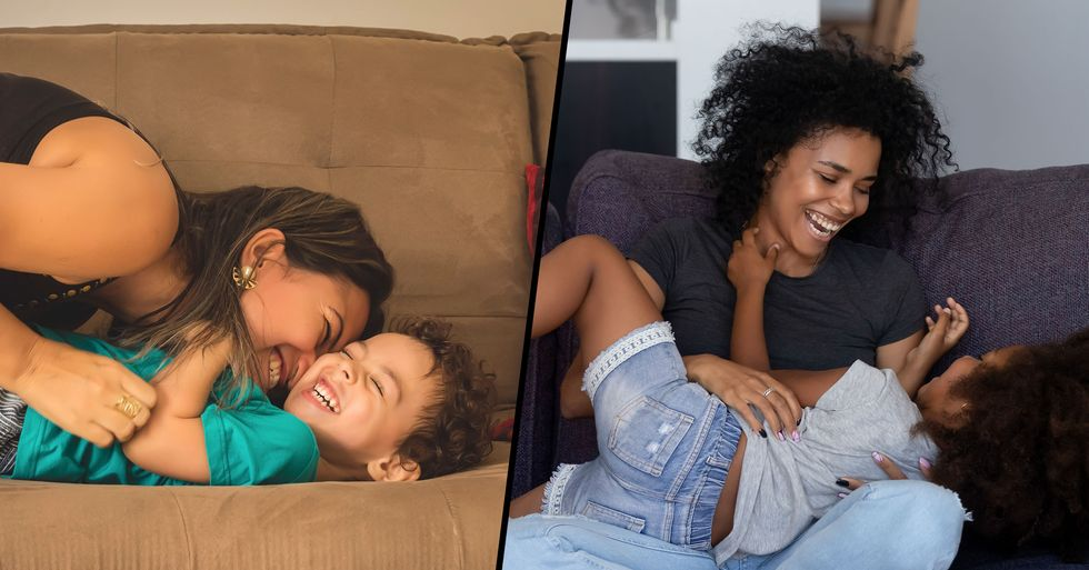 Mom Ignites Huge Debate After Saying Tickling Without Consent Is Cruel