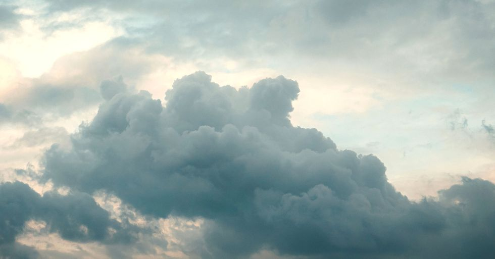 Beautiful Photo of Clouds Forming the Word 'Love' Gives People Hope Amidst Global Crises