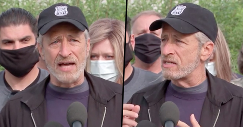 Jon Stewart Urges for Health Care Law To Help Veterans Exposed To Toxic Burn Pits