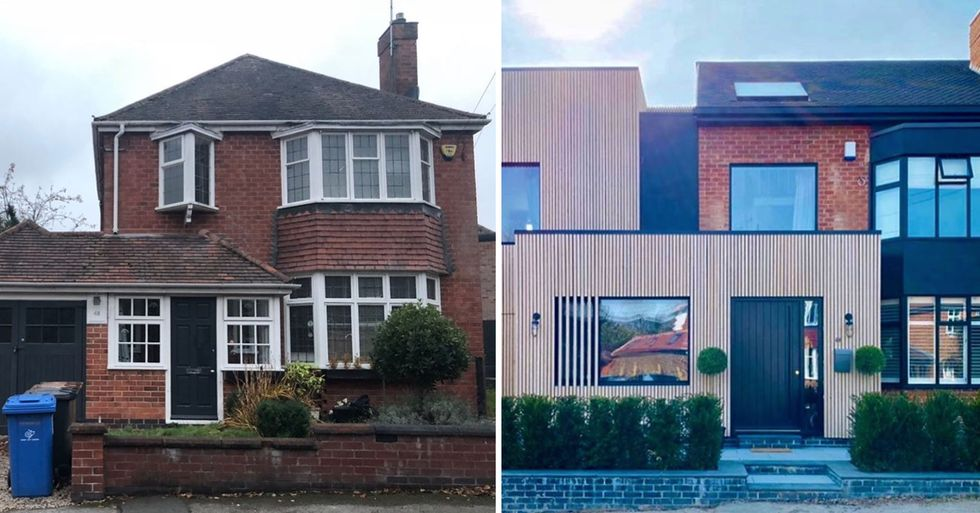 Couple Turns Ordinary 1930s Family Home Into a Modern Masterpiece