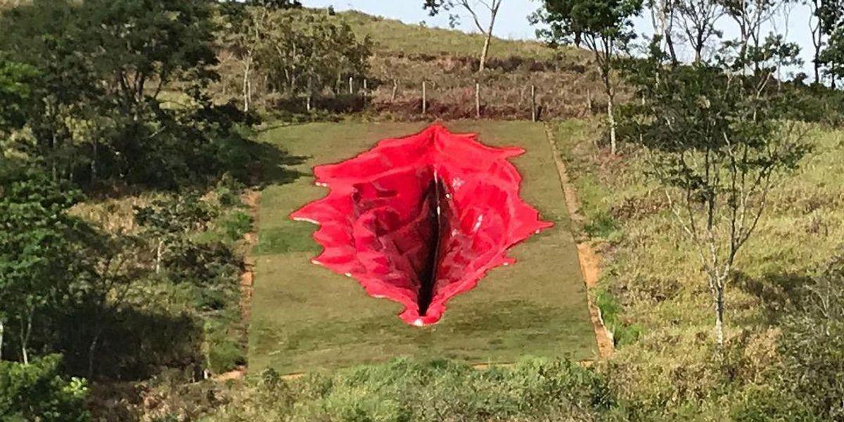 There's a Massive New Vulva Sculpture in Brazil