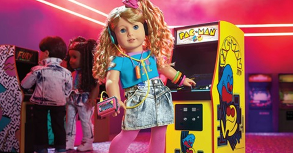 The American Girl's Newest 'Historical' Doll' Is From the '80s So We're Officially Ancient