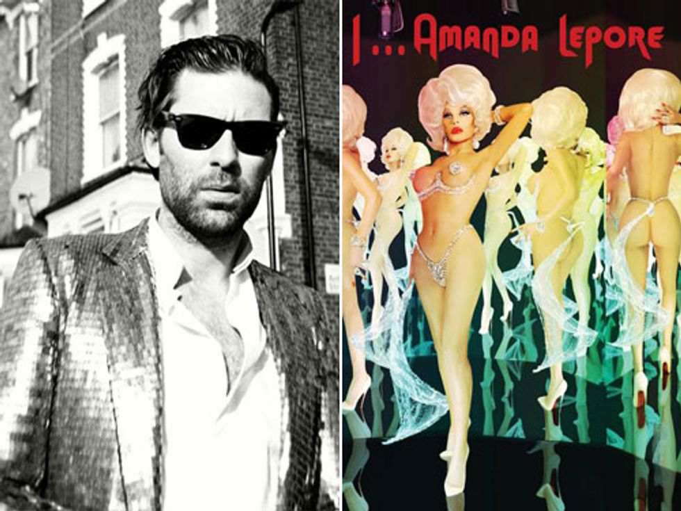 Eight Items or Less: Jamie Lidell at the FIAT Pop-UP Gallery + Amanda Lepore's New Album