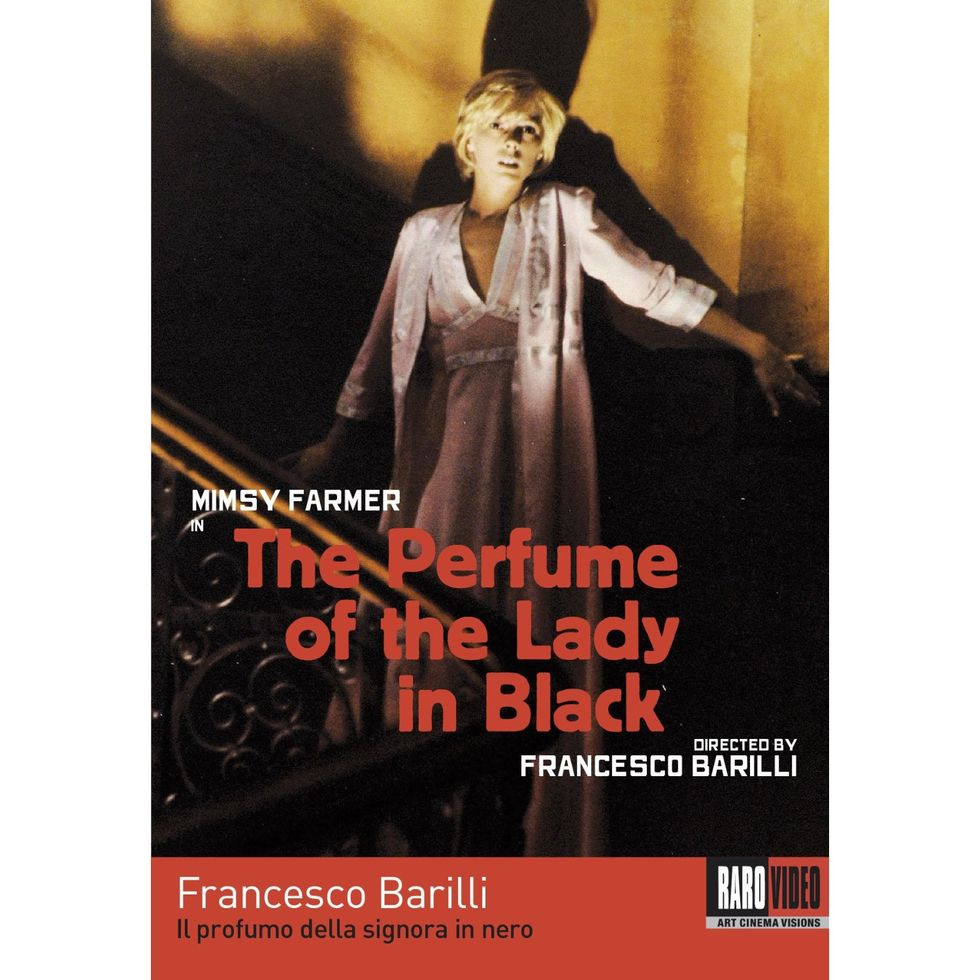 Bizarre Italian Thriller The Perfume Of The Lady In Black On DVD