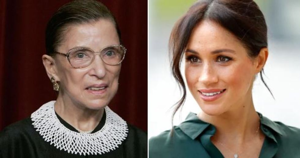 Meghan Markle Pays Incredible Tribute to Ruth Bader Ginsburg