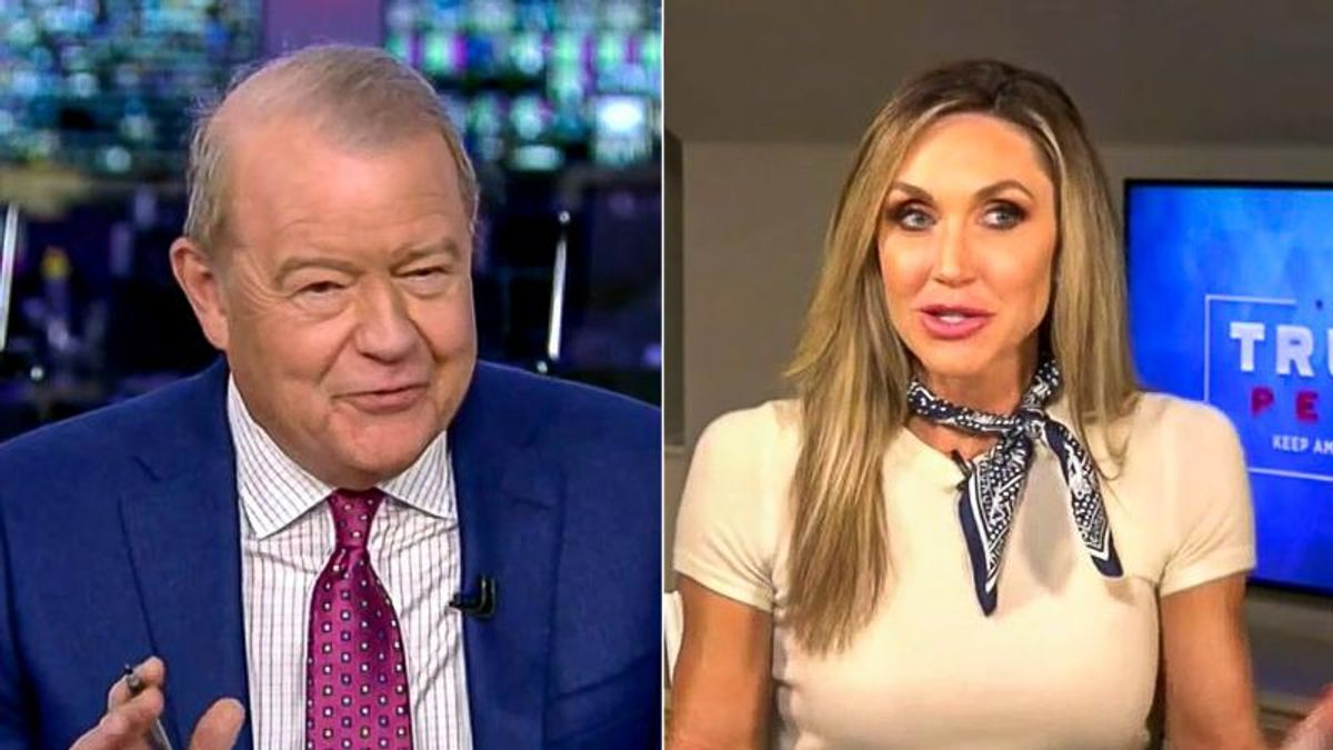 'That's a real stretch': Fox Business host shuts down Lara Trump after she claims Trump can still win