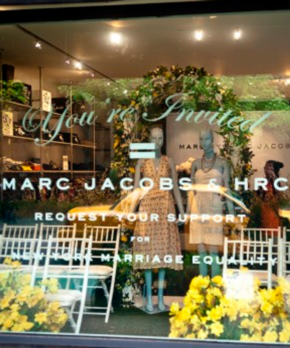 Marc Jacobs' Mannequin Wedding + Kanye West's Scarves in Today's Style Scraps
